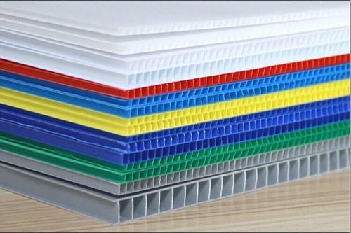 Flame retardant material PP corrugated coroplast correx  sheet