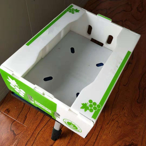 Foldable coroplast China pp plastic correx box manufacturer Qingdao Hengsheng Plastic