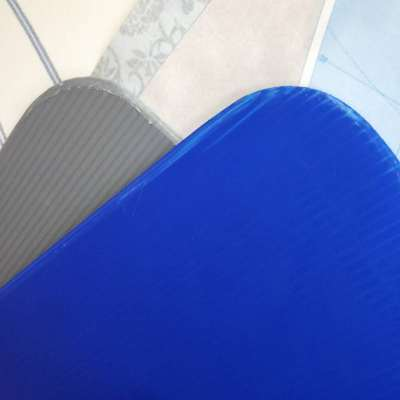 Round Corner Separator correx divider China Corrugated Plastic Sheet bottle Layer Pad manufacturer