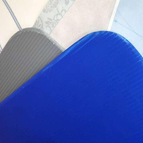 Round Corner Separator correx divider China Corrugated Plastic Sheet bottle Layer Pad manufacturer