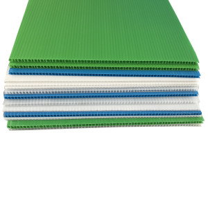 Anti static correx PP corflute floor protection sheet