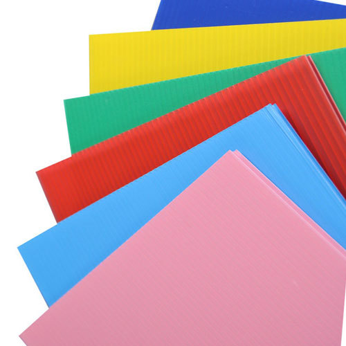 Die cut available 4*8 PP hollow sheet for sale
