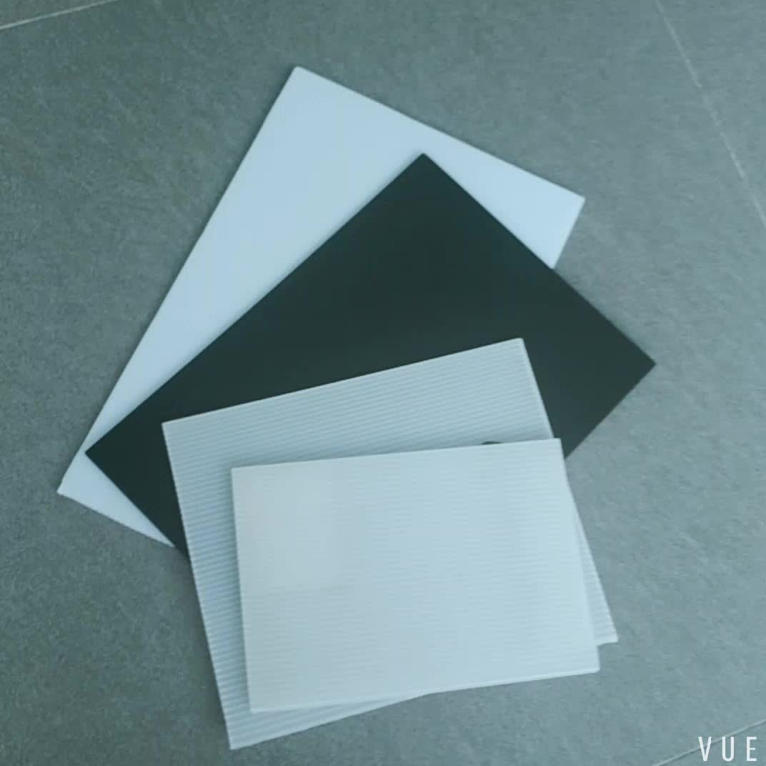Qingdao Hengsheng Plastic FAQ why there have different thickness of fluted sheet