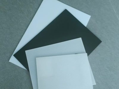transparent coroplast corrugated plastic sheet