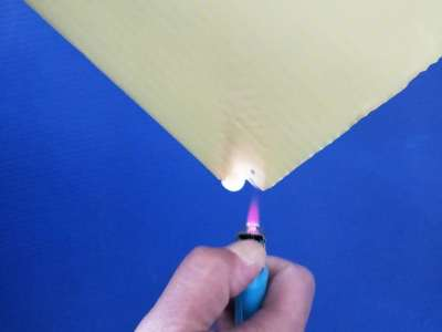 Custom PP corrugated fire retardant corflute sheet from China supplier