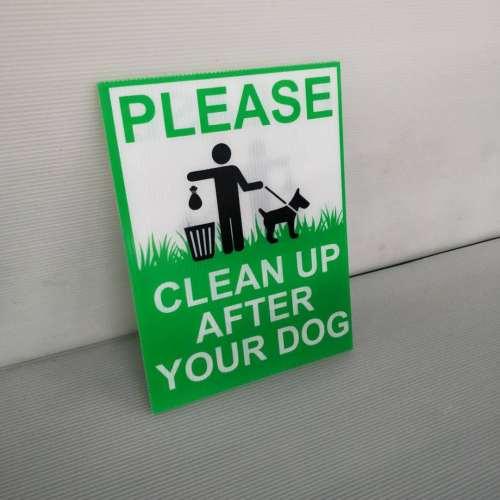 Customized Corflute Sign  Corrugated Plastic Sign Corflute Pp Corrugated Signage