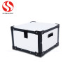 Plastic folding box with colorful printing