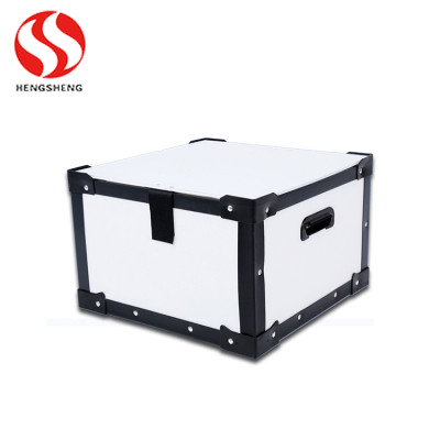 Collapsible Corrugated Plastic Shipping Boxes (BLUE)