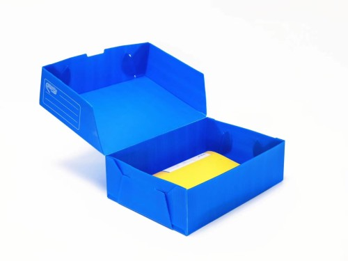 2mm to 6mm recyclable PP hollow corrugated plastic board for turnover box