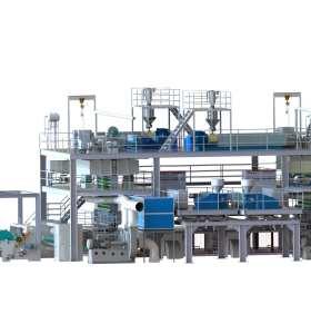 SSMMS纺熔无纺布生产线