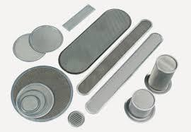 Melt-blown cloth strips disc filter 3 layers 5 layers aluminum clad stainless steel filter