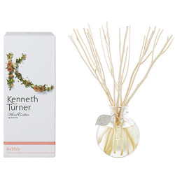 Round glass bottle natural home fragrance reed diffuser