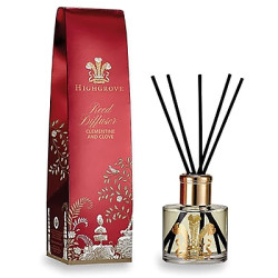 Luxury decorative fragrance reed diffuser with gift box
