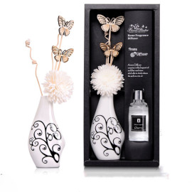 Hot sale fashion Handmade design home decor solar flower diffuser