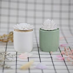 Fragrance ceramic diffuser for decorative custom diffuser