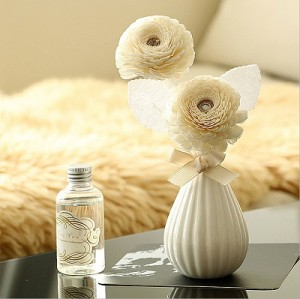 Wholesale ceramic diffuser bottle aroma flower stick reed diffuser