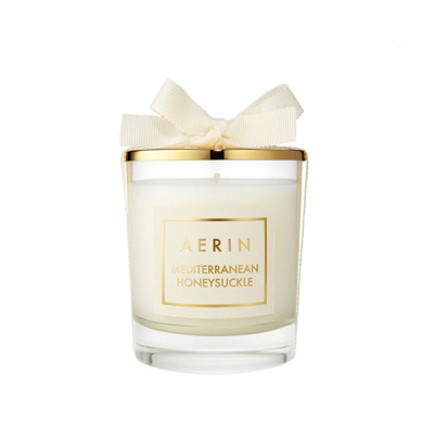 High Quality hotsale candle container for candles luxury scented soy wax candle with gold lid