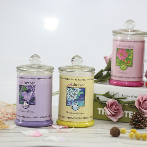 Chinese maker three wick scented soy candle