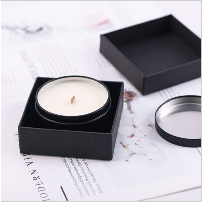 Customized wholesale luxury tin candles handmade natural fragrance soy candles