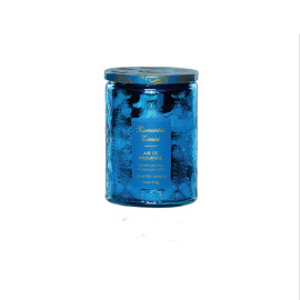 Wholesale soy wax customized pillar soy candle scented luxury glass jar home decoration