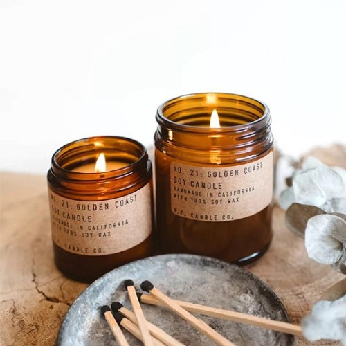 Wholesale retro Aroma Candle Luxury Soy Wax Scented Candle Factory organic candles