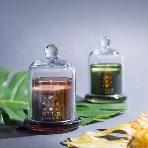 Lovely craft scented soy candle in domed jar with lid Luxury candle