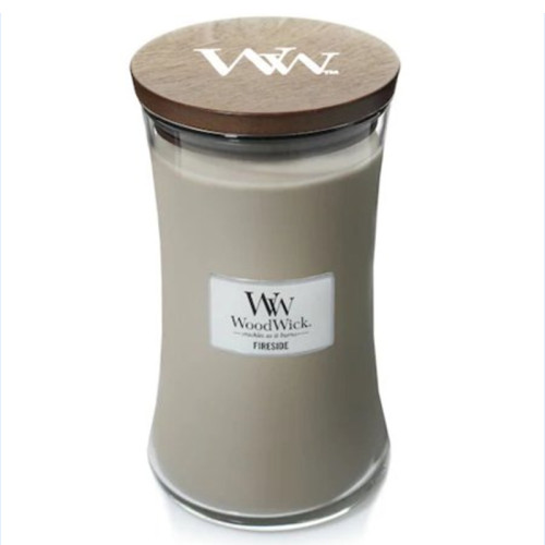 Wholesale custom classic scented wax glass candle holder jar with wood lid for gift set