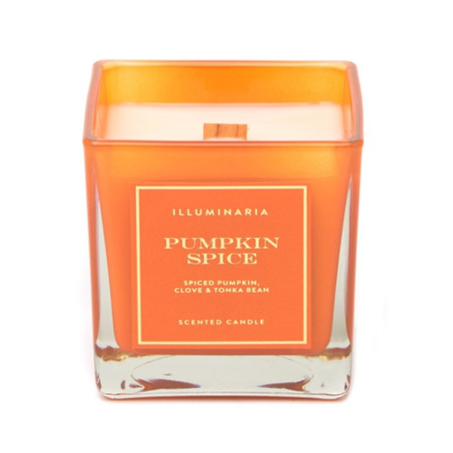 Luxury custom different types soy wax scented decal square glass unique candle jars