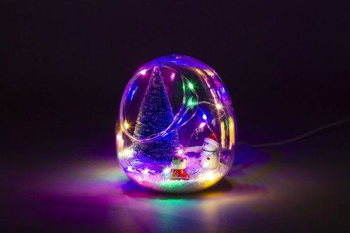 New LED Christmas Tree House Light Home Decoration Room Night Light