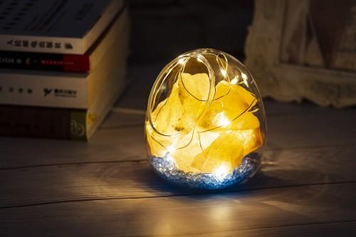 2019 Unique design Himalayan Salt Lamp USB Colorful LED Decoration Stone Lamp