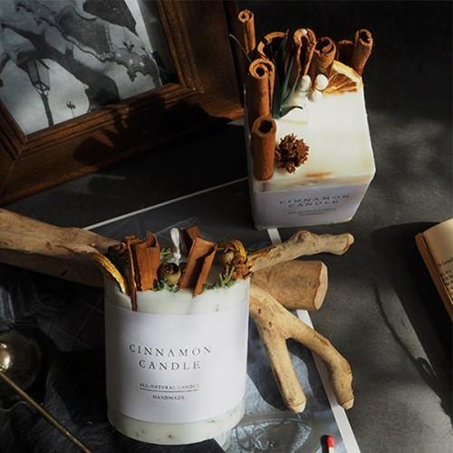 Customized Wedding Decoration  handmade soy Wax luxury Pillar scented Candles
