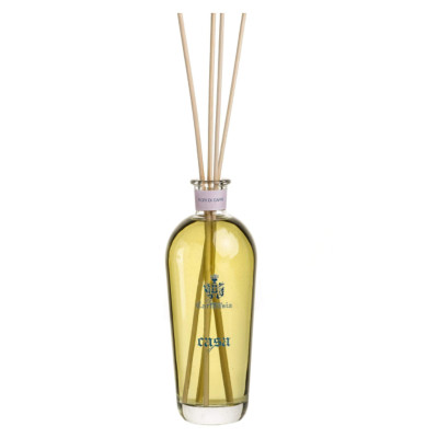 Wholesale rattan stick glass bottle reed diffuser with natural aroma essential oil