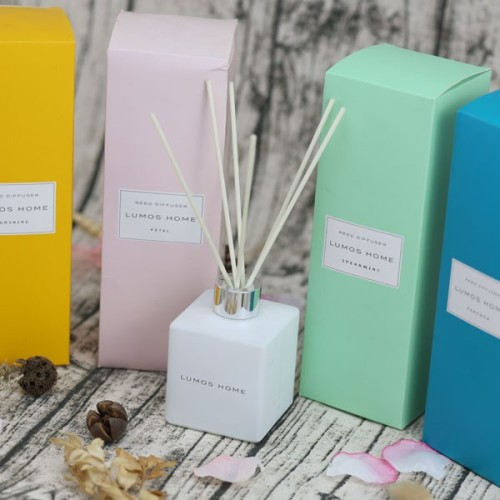 Luxury Glass Reed Diffuser gift Set & Aroma Candle