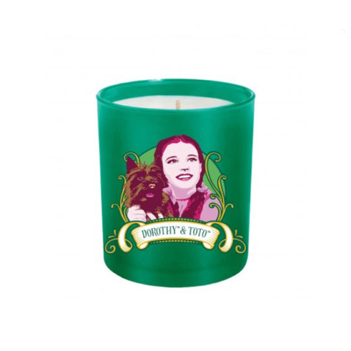 Wizard of oz series frosted glass jar scented soy wax candle for gift set
