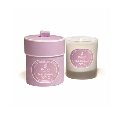Round Gift Box with Scented Soy Wax Candle