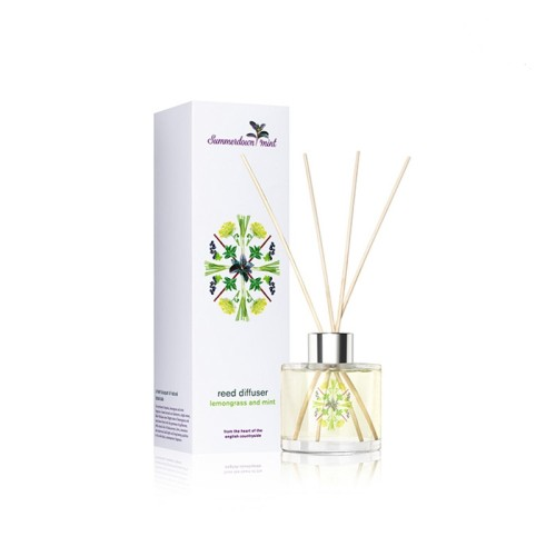 Home decorative fragrance reed diffuser with colorful box