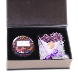 Luxury Natural Travel Scented Candle Tin Wholesale Container Tin Candle Can Box