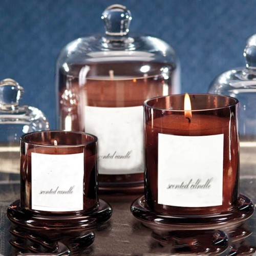 Customized Luxury Scented Candle with Glass Dome
