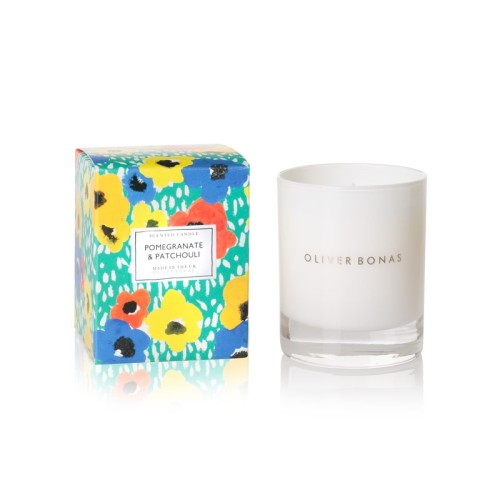 Luxury  customized mini scented candles with colorful packaging