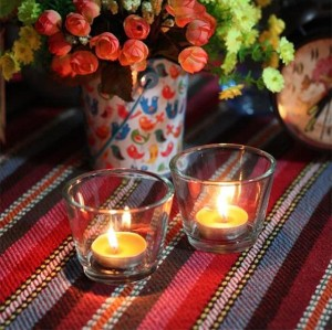 Cheap fashion floating candles, Wedding scented glass jar soy candles for Wholesale