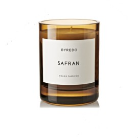 Cheap Natural Soy Scented Candle in Brown Glass Jar