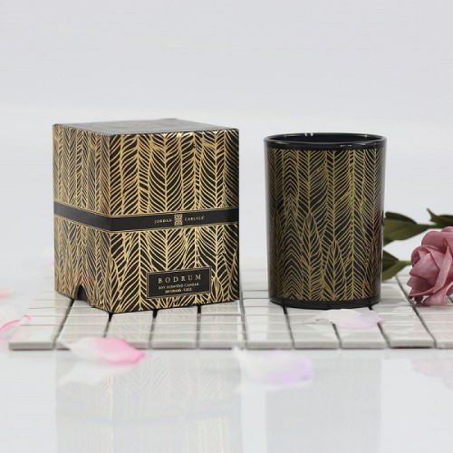 High End Luxury Scented Soy Candle with Gift Packaging