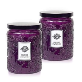 Selling color carved decorative glass candle jar with metal lid with Tealight candle wholesale