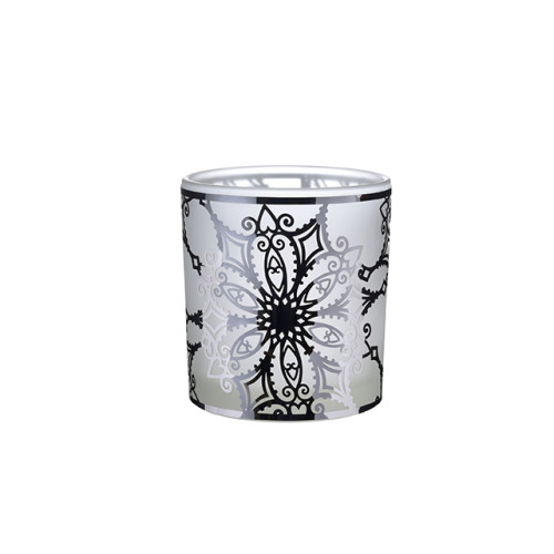 Hot selling modern luxury empty mini custom plated glass bottle holder