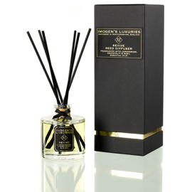 Luxury decorative fragrance reed diffuser with black gift box