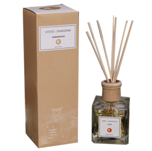 All Scent Water Based Liquid Air Freshener Type Reed Diffuser With Wood Cap
