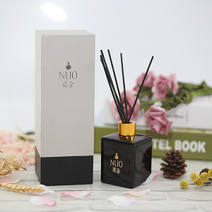 Luxury Green Tea Aroma Oil Diffuser with Rattan Sticks