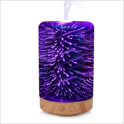 3D glass home decoration aromatherapy electric diffusion spray aromatherapy machine air freshener
