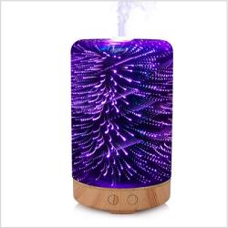 3D glass home decoration aromatherapy electric diffusion spray aromatherapy machine air freshener