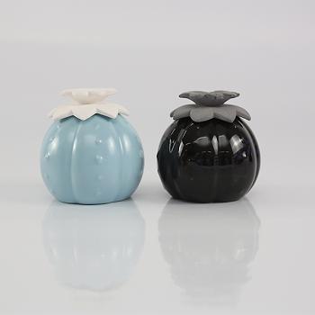 Ceramic Aroma Stone flower Bottle Reed Diffuser For Home Decor